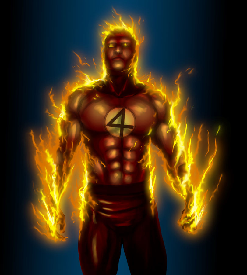 who plays human torch in fantastic four