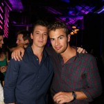 Divergent - Miles Teller and Theo James