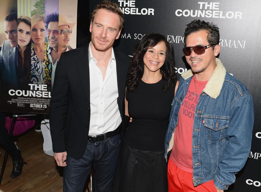The Counselor - Rosie Perez, John Leguizamo and Michael Fassbender ...