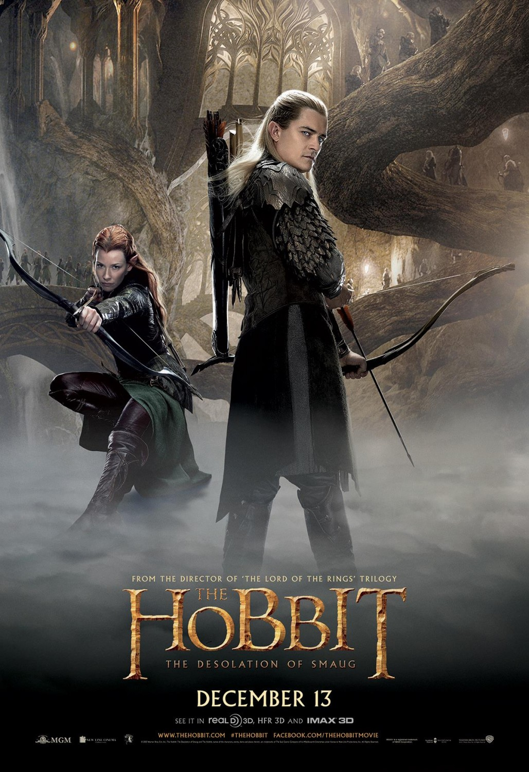 Orlando Bloom As Legolas Greenleaf The Hobbit The Desolat...