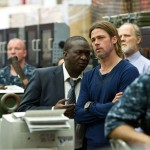 World War Z 3 - Fana Mokoena and Brad Pitt