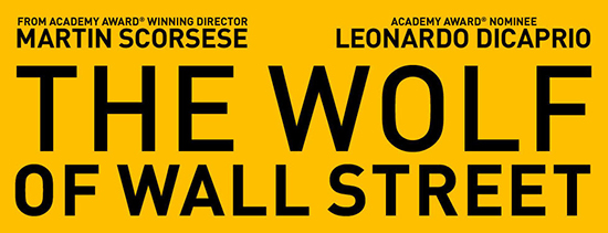 Scorsese's the wolf of wall street starring leonardo dicaprio