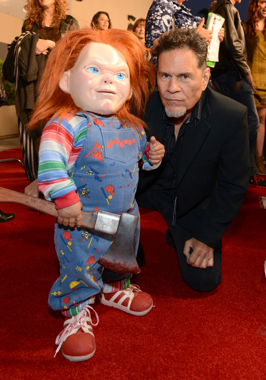 """curse of chucky"""" celebrates halloween horror nights at the annual"""