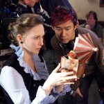 THE CONJURING - VERA FARMIGA AND JAMES WAN