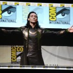 Tom Hiddleston Loki SDCC2013