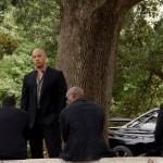 Fast 7 Vin Diesel at funeral