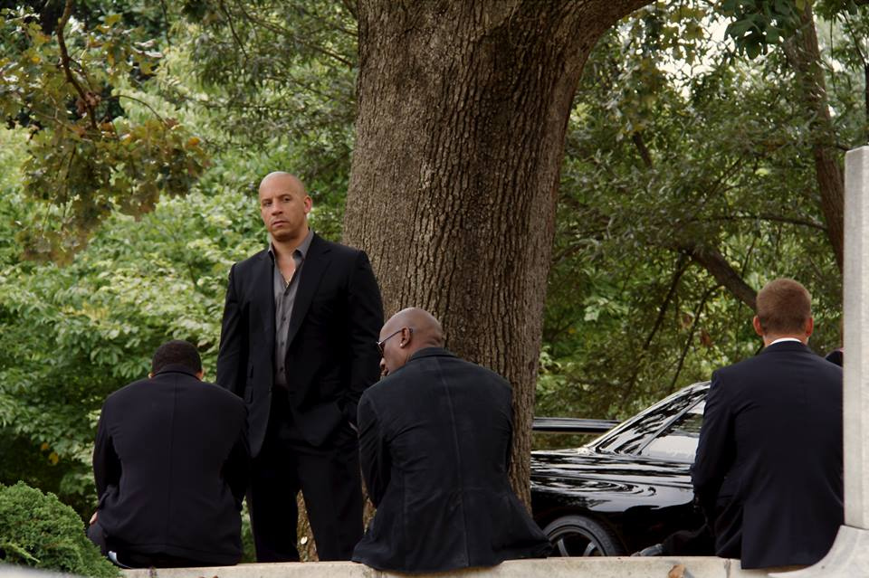 Vin Diesel Shares Pic Of Hans Funeral From Fast Furious 7