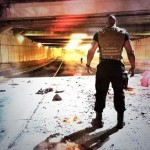 Fast 7 set pic - Dwayne Johnson