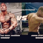 Fast 7 set pic - Dwayne Johnson vs Jason Statham