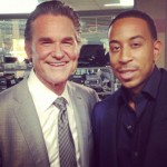 Fast 7 set pic - Kurt Russell and Ludacris