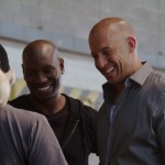 Fast 7 set pic - Tyrese and Vin Diesel
