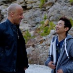 Fast 7 set pic - Vin Diesel and James Wan