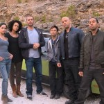 Paul Walker with cast