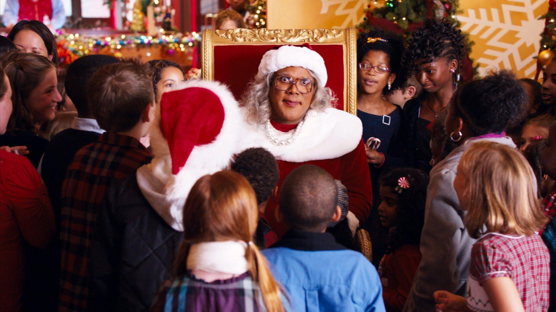 Madea Christmas Play.Exclusive Tyler Perry Talks A Madea Christmas David