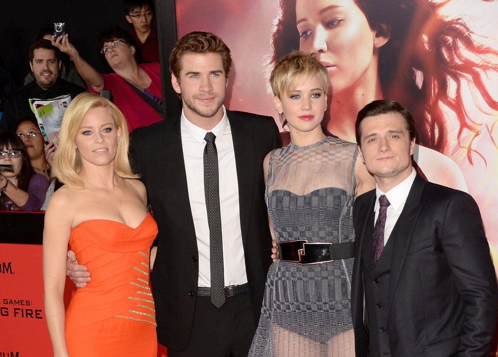 liam hemsworth and jennifer lawrence catching fireLiam Hemsworth And Jennifer Lawrence