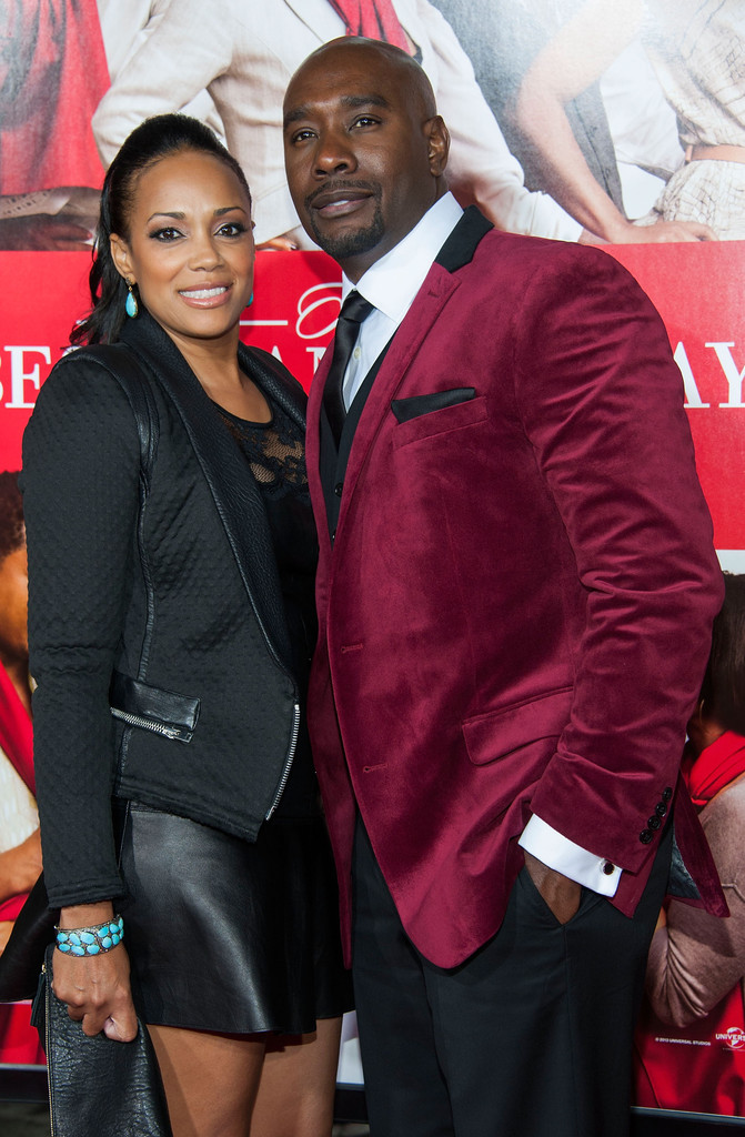 TBMH Premiere - Morris Chestnut and wife - blackfilm.com ...
