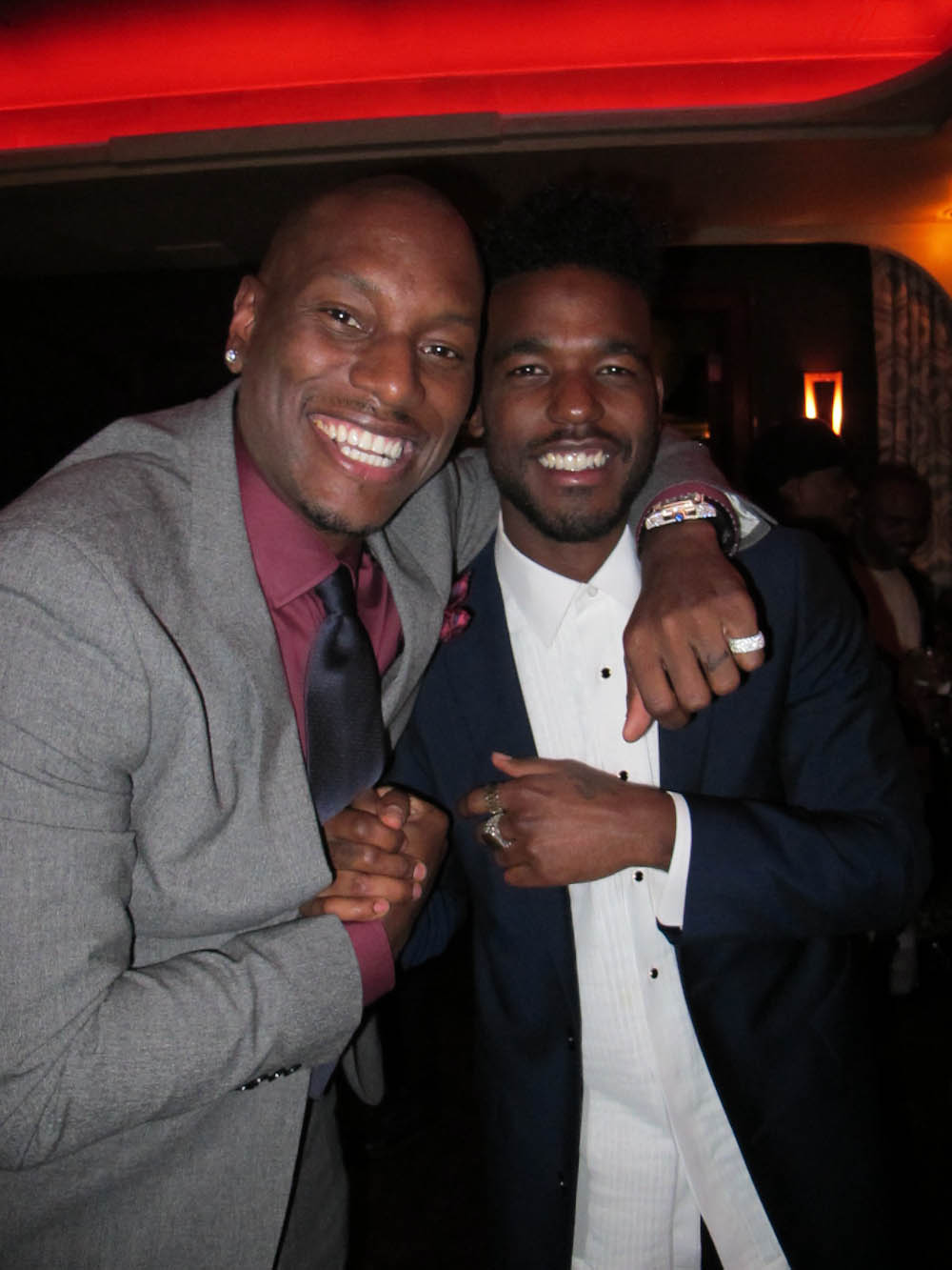 Tyrese Gibson | Short Hairstyle 2013