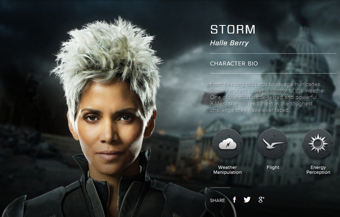 Men Days of Future Past character bio     Halle Berry as StormX Men Days Of Future Past Storm