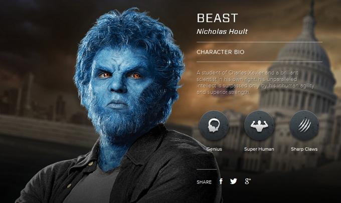 X Men Days Of Future Past Nicholas Hoult X-Men Days of Future P...