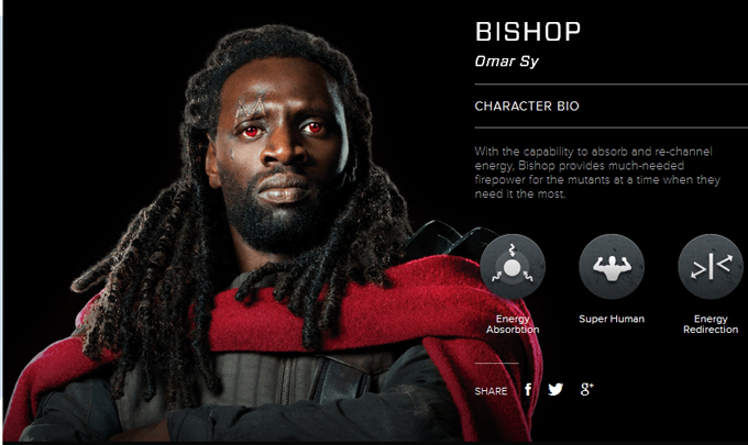 Men Days of Future Past character bio - Omar Sy as Bishop ... X Men Days Of Future Past Bishop