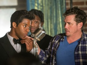 Get On Up 6 - Chadwick Boseman and Tate Taylor