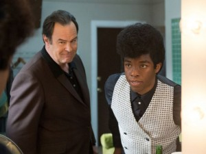 Get On Up 7 - Dan Aykroyd and Chadwick Boseman