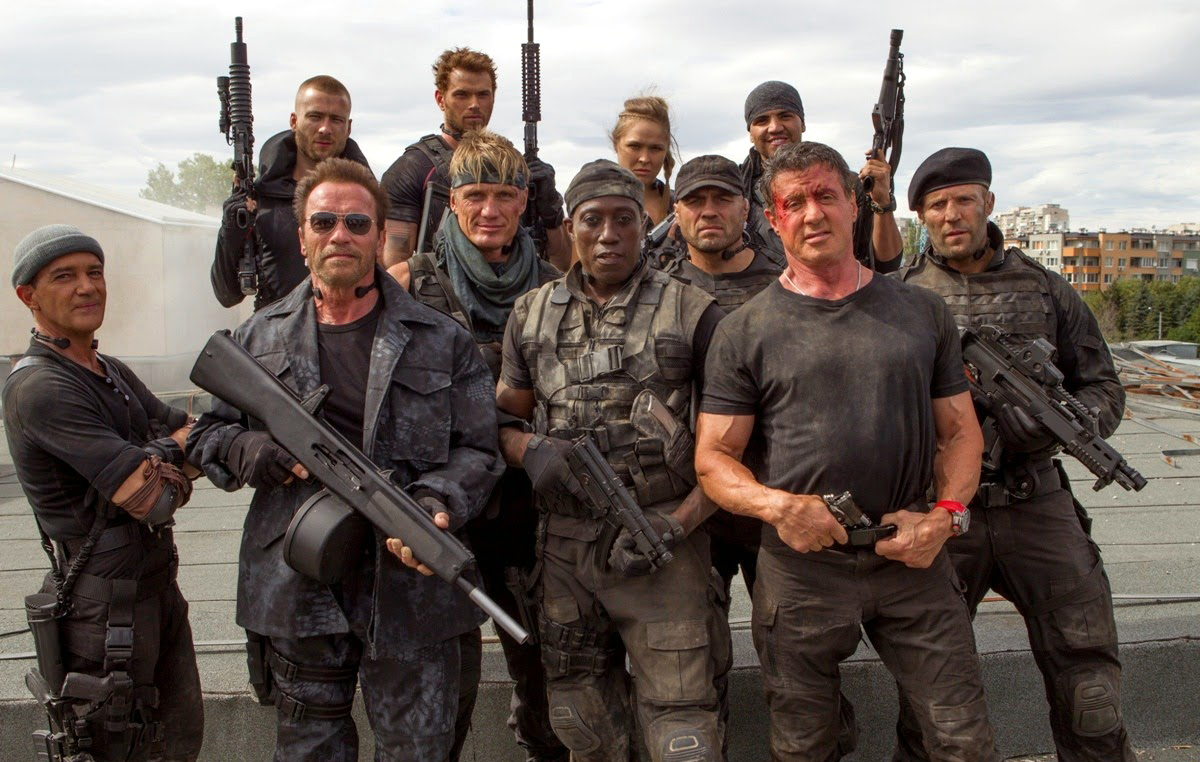 Expendables with Barney  Expendables 3 Cast