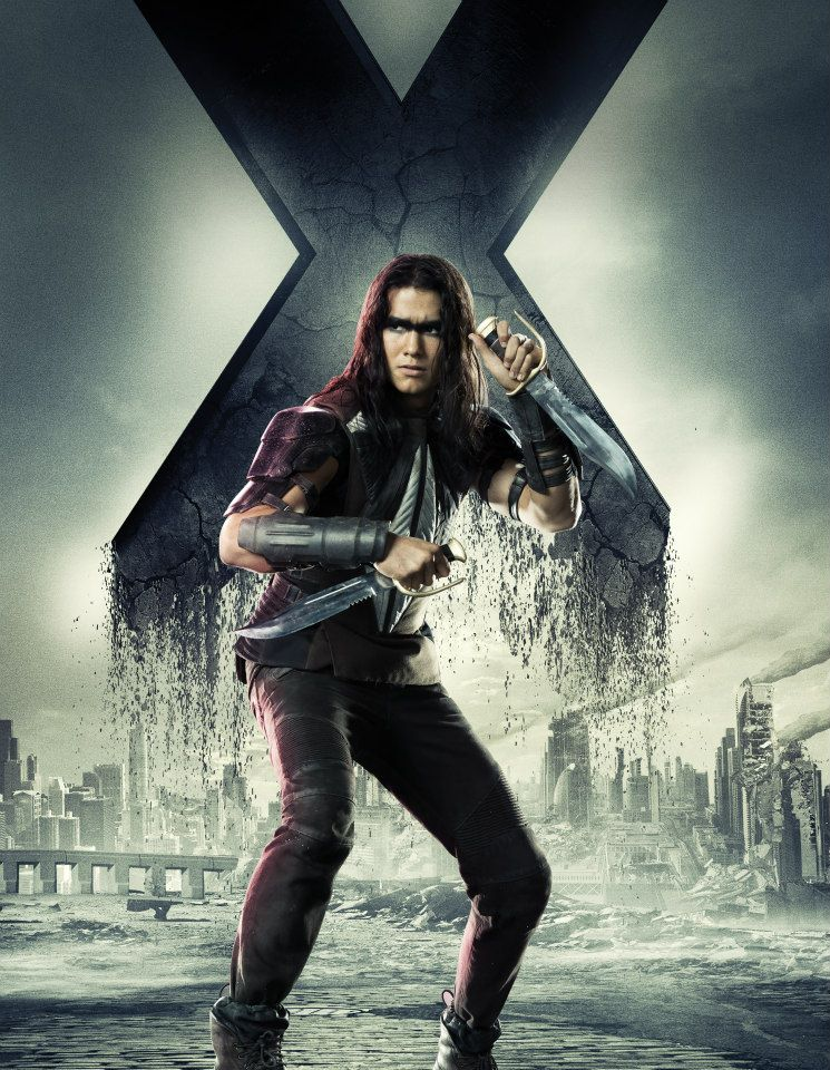 Men Days of Future Past character poster - Booboo Stewart as WarpathX Men Warpath Booboo Stewart