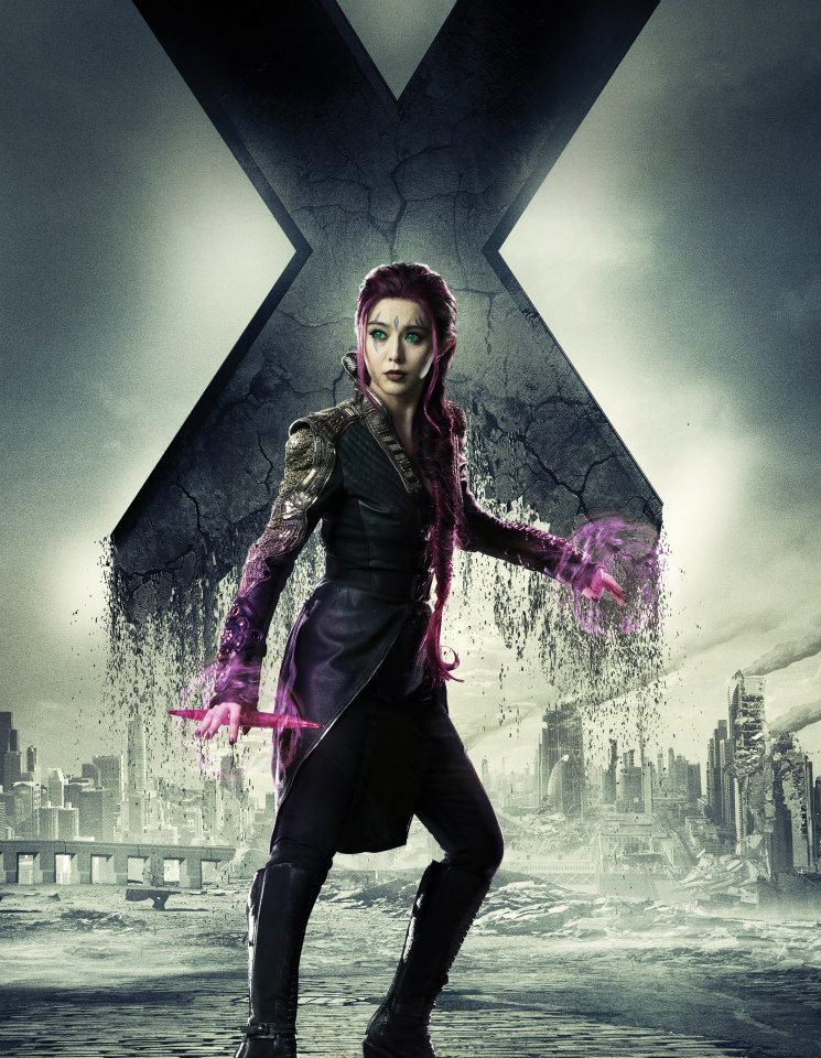 Men Days of Future Past character poster     Fan Bingbing as BlinkX Men Days Of Future Past Blink Poster