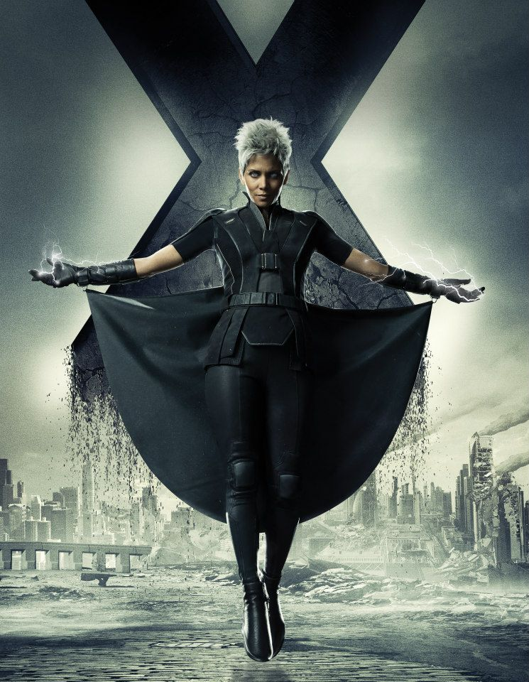 Men Days of Future Past character poster - Halle Berry as Storm ... X Men Days Of Future Past Photos