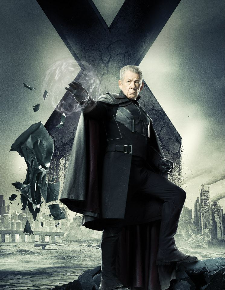 X-Men Days of Future Past character poster - Ian McKellen ...