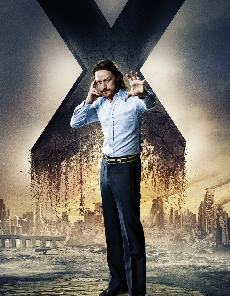 Men-Days-of-Future-Past-character-poster-James-McAvoy-as-Professor-X    X Men Days Of Future Past Professor X