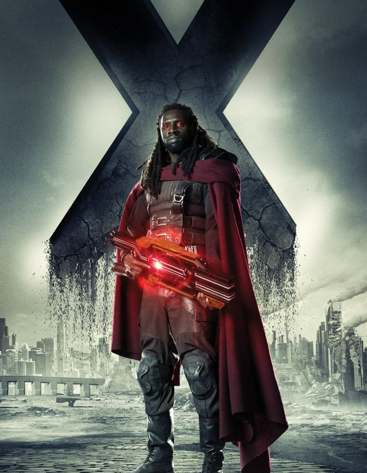 X Men Days Of Future Past Bishop Exclusive: Omar Sy Tal...
