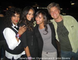 Amber Stevens, Shadoe Stevens and family