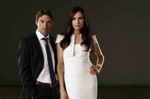 Hemlock Grove Season 2 Dougray Scott and Famke Janssen