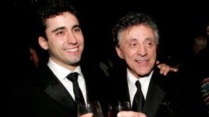 John Lloyd Young and Frankie Valli