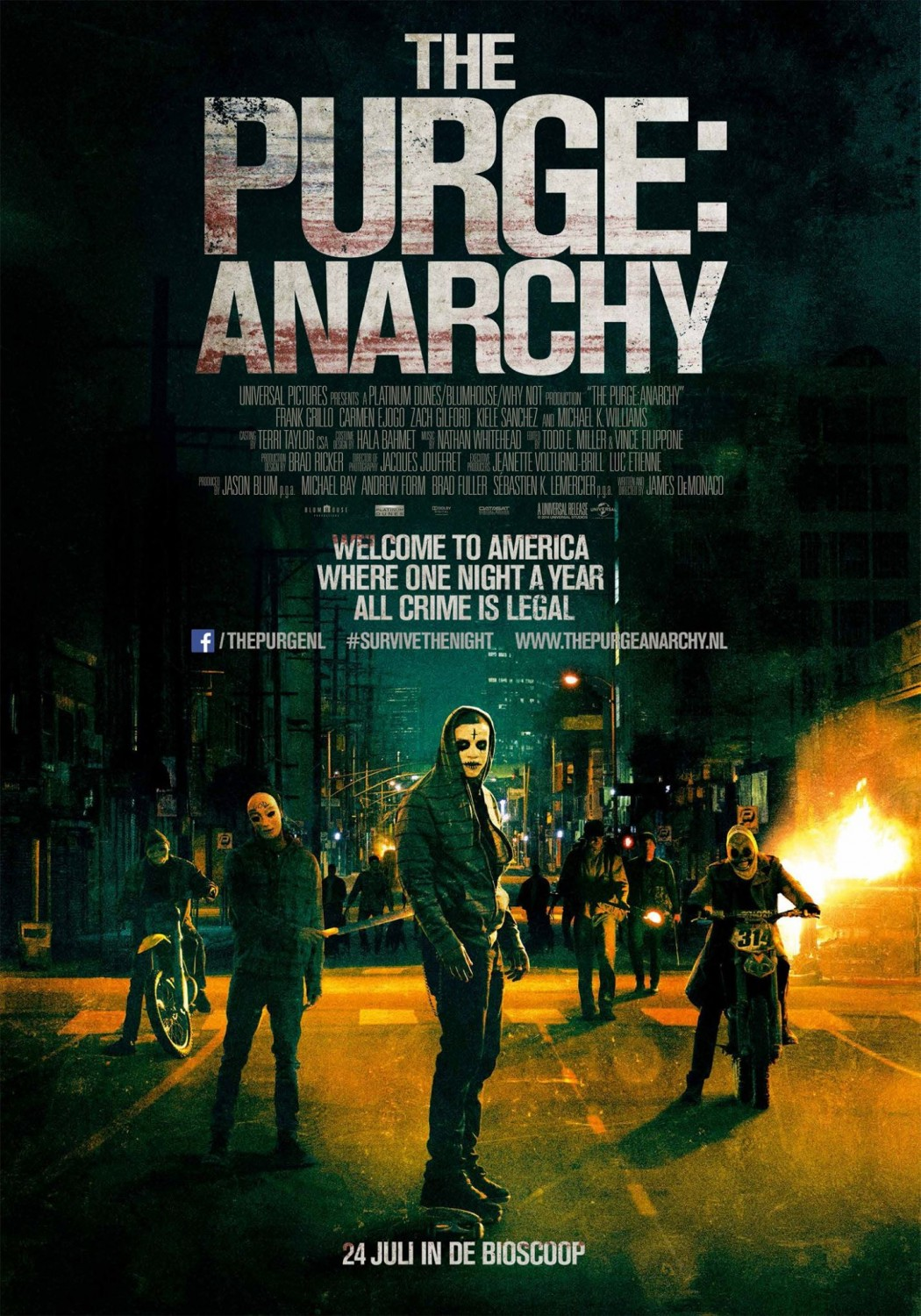 Movie Review : The Purge : Anarchy