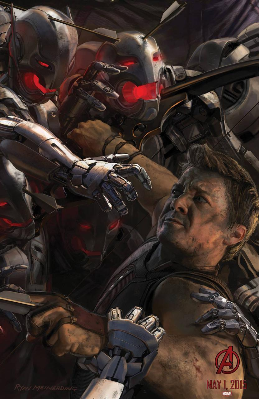 Avengers Age of Ultron poster - Hawkeye - blackfilm.com ...