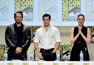 Ben Affleck, Henry Cavill and Gal Gadot