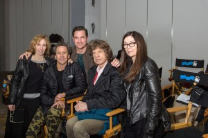 Get On Up 20 - Producers Victoria Pearman, Brian Grazer, Tate Taylor, Mick Jagger and Erica Huggins