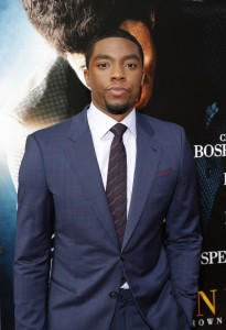 Get On Up Premiere - Chadwick Boseman 2