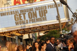 Get On Up Premiere -  Chadwick Boseman 3