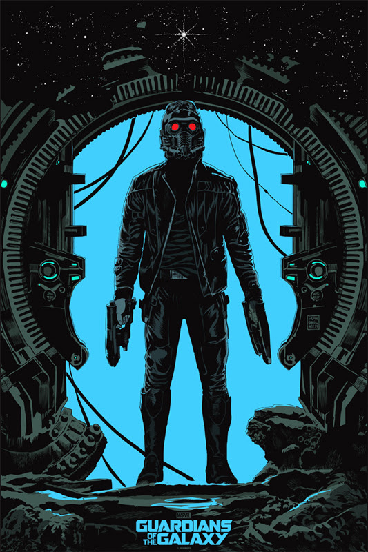 Guardians Of The Galaxy Mondo Poster Star Lord