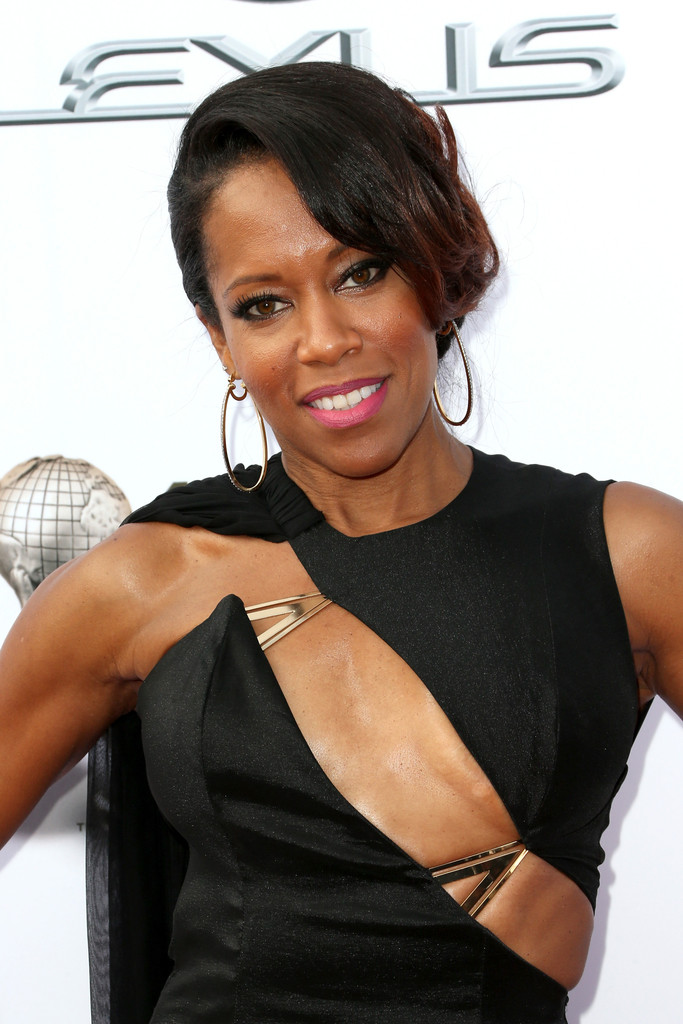 The well known American actress Regina King