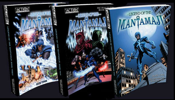 The Legend of the Mantamaji comics