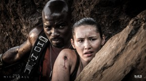 Halo Nightfall Mike Colter and Christina Chong