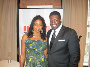 Condola Rashad and Stephen Hill