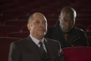 Hisham Tawfiq and James Spader