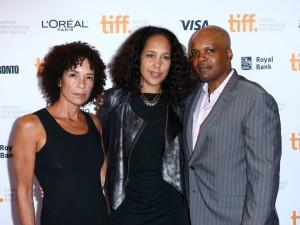 Producer Stephanie Allain, director Gina Prince-Bythewood and producer Reggie Rock Bythewood