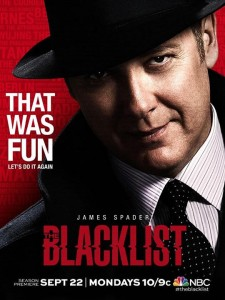 The Blacklist season 2 poster